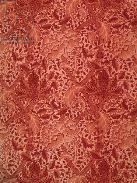 African Marigold (block printing on fabric)