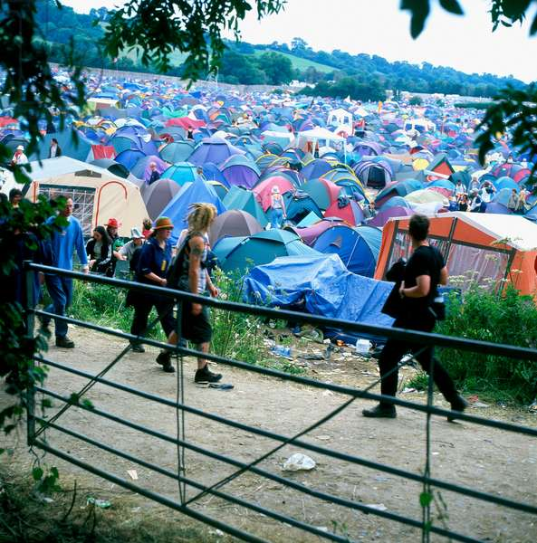 Glastonbury Festival 2004.