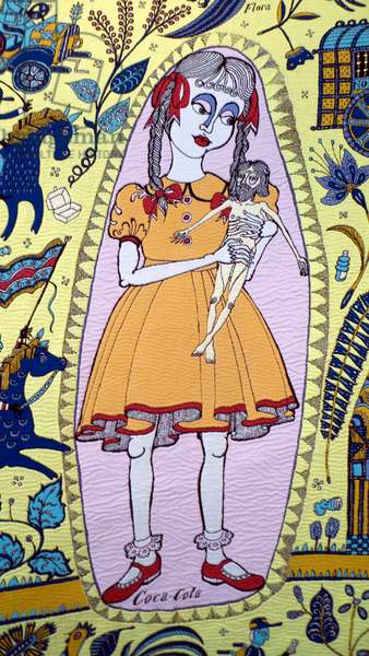 Grayson Perry Walthamstow Tapestry detail