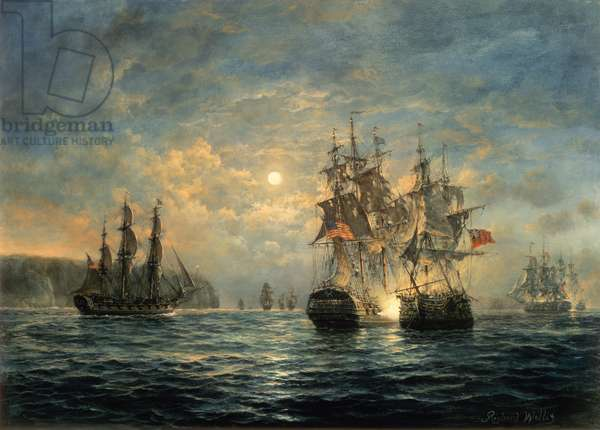 "Engagement Between the ""Bonhomme Richard"" and the ""Serapis"" off Flamborough Head, 1779 (painting)"