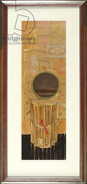Lobster Pot & Dark Mirror, 1979 (mixed media)