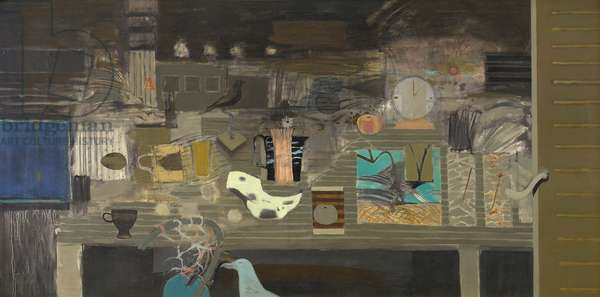 Still life - Nocturne, c.1972-73 (oil on canvas)
