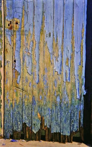 The Blue Door, 1999 (oil on canvas)