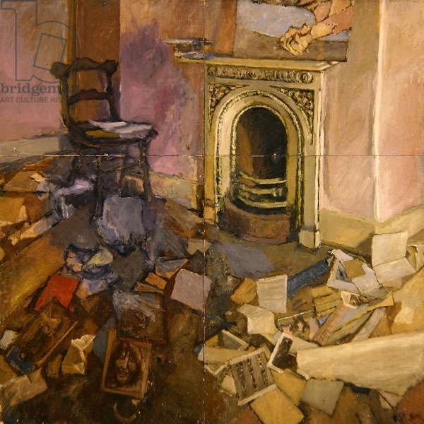 Large Interior, 1979/80 (oil on board)