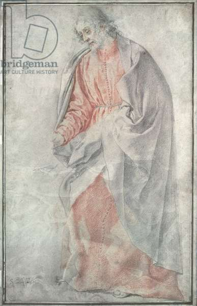 An Apostle, (pastel)