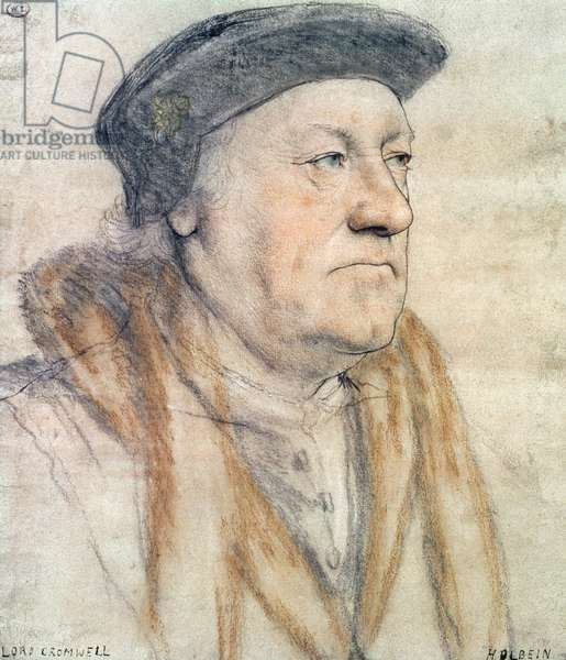 George Nevill, 3rd Baron Bergavenny, c.1532-35 (pen & ink, chalk, wash and bodycolour on paper)