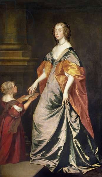 Lady Mary Villiers (1622-85) and Mrs Gibson