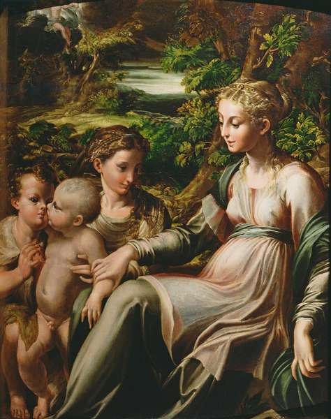 Virgin and Child, with Saints Catherine and John