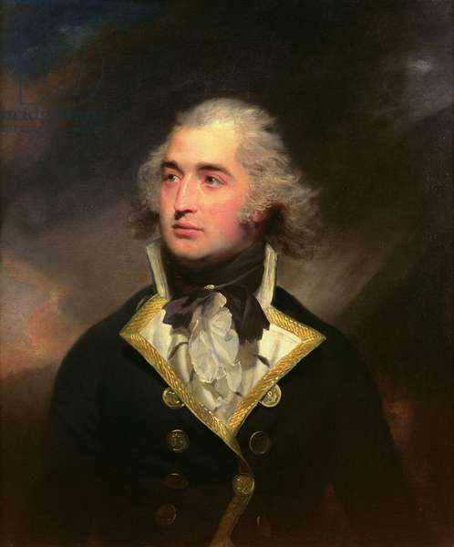 Captain Augustus Montgomery, R. N. (oil on canvas)