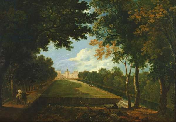 Wilton House, East View (oil on canvas)