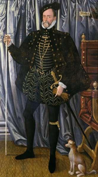 The 1st Earl of Pembroke (c.1501-70) (oil on panel)