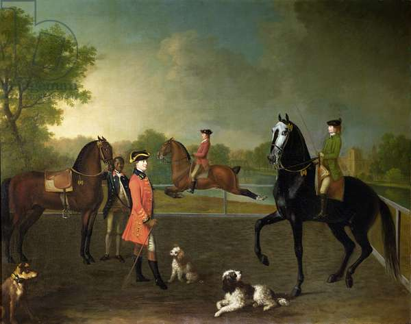 Henry, 10th Earl of Pembroke, and his son George Augustus, Lord Herbert (1759-1827)