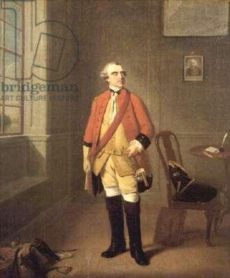 Cornet North Ludlow Bernard, 2nd husband of Mary Fitzwilliam, Countess of Pembroke (d.1769)