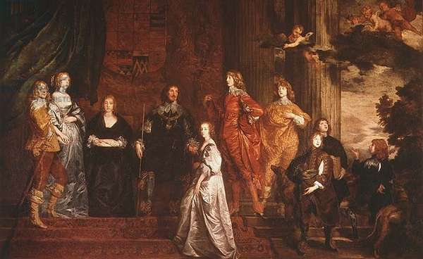 Philip, 4th Earl of Pembroke (1584-1650) and his Family