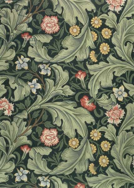 """""""Leicester"""" wallpaper, designed by John Henry Dearle (1860-1932) for Morris and Company, 1911"""
