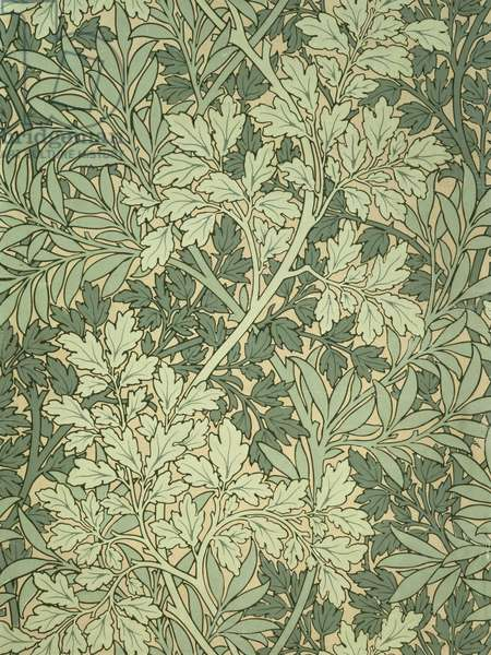 """""""Foliage"""" wallpaper, designed by John Henry Dearle (1860-1932) for Morris and Company"""