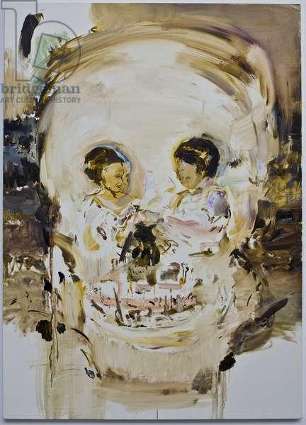 Aujourd'hui Rose, 2005 (oil on canvas)