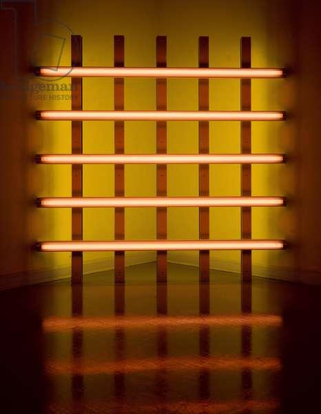 Light installation, 1989 (neon)
