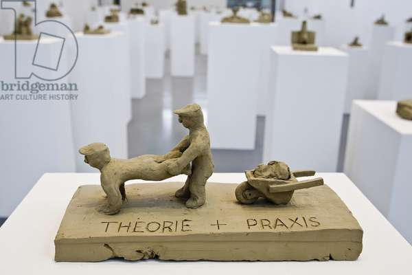Theory and Praxis, 1981 (clay)