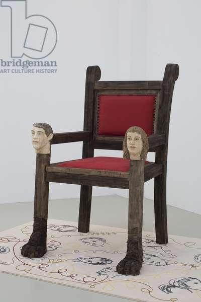Throne, 2007 (mixed media)