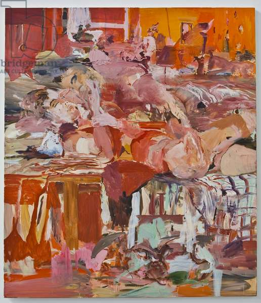 Thread Count, 2004 (oil on canvas)