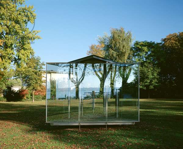 Double Triangular Pavilion, 1999 (metal and glass) (see also 228001 and 228002)