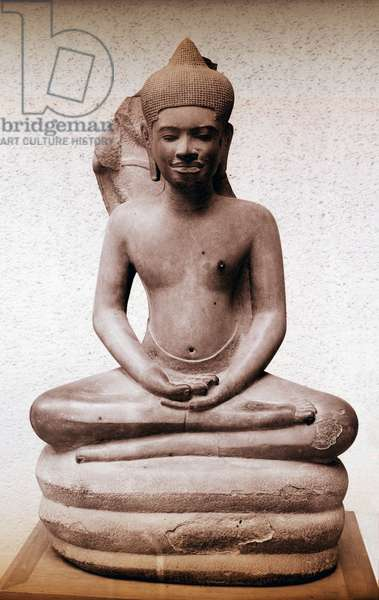 Illustration from the life of the Buddha