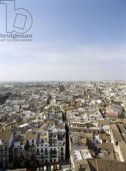 View of the city of Seville from the Tower of the Giralda Country of Origin: Spain