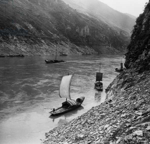 Ship on the Yangtze Kiang