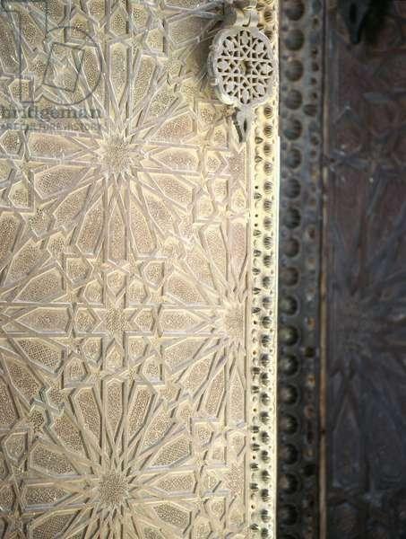 The mosque of Sidi (Saint) Boumedienni at Tlemcen