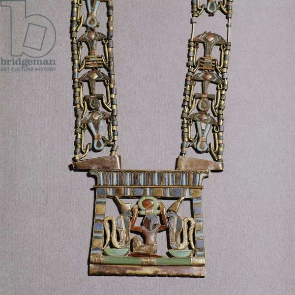 A pendant from the tomb of Tutankhamun