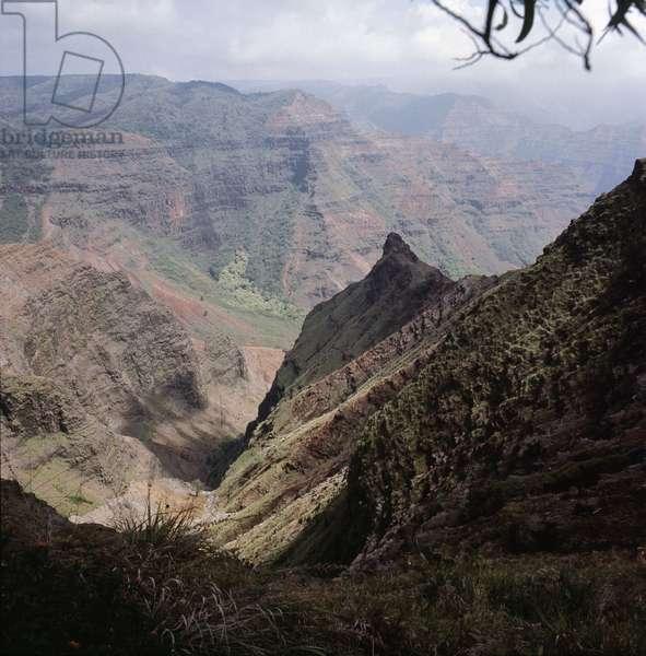 Waimea Canyon, in the south west of Kauai