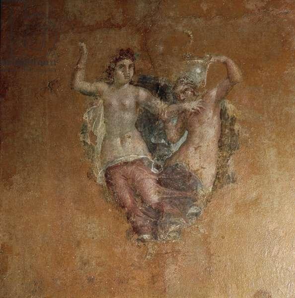 Painting: Bacchic scene