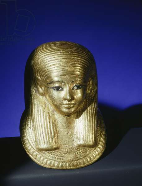 Funerary mask for a foetus