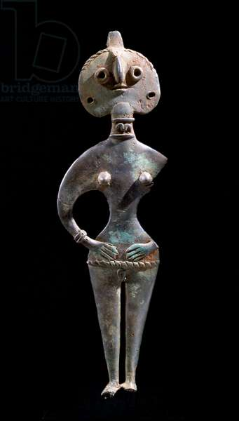 Anatolian idol in the form of a female figure