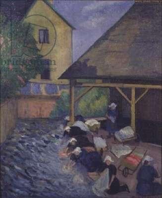 The Laundry at St. Nicolas du Pelem, Brittany