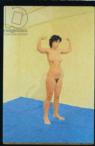 Rising Figure, 1983 (Oil on Canvas)