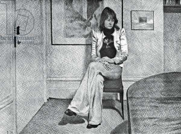Mair Griffiths, 1974 (Pencil on Paper)