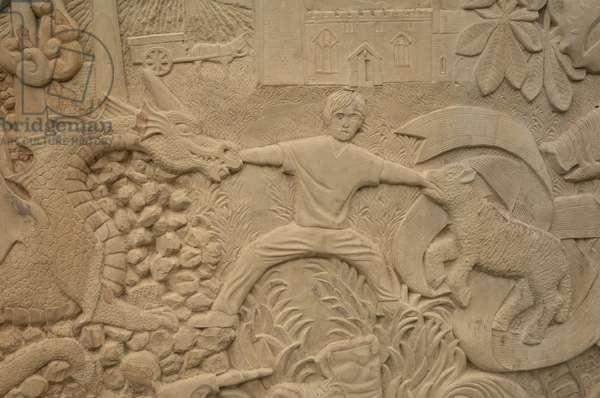 Tom, 2009 (Woodkirk sandstone) (detail)
