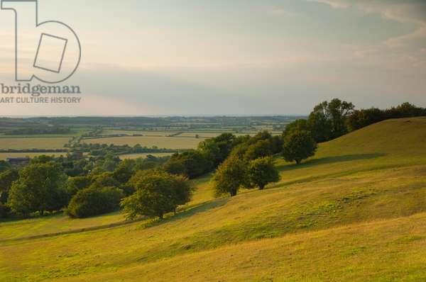 Burton Dassett Hills, Warwickshire (photo)