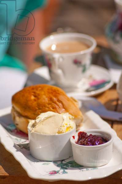 Cream tea (photo)