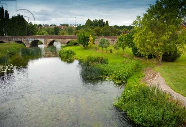 Bridge over River Anker, Polesworth, Warwickshire, 2011 (photo)