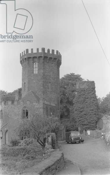 The Castle public house, Edgehill. Wednesday 5 August 1959