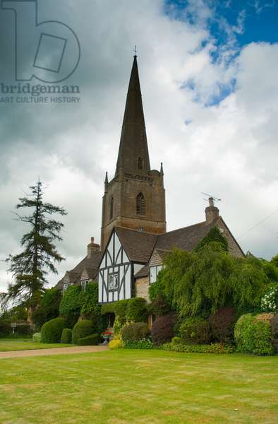 St. Gregory's Parish Church, Tredington, near Shipston-on-Stour, Warwickshire, tallest spire in Warwickshire, 2011 (photo)