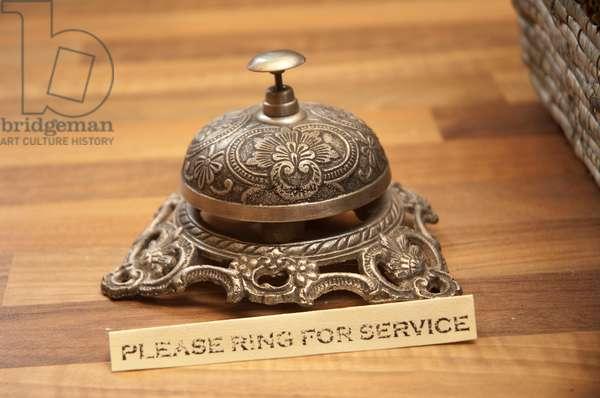 Reception bell (photo)