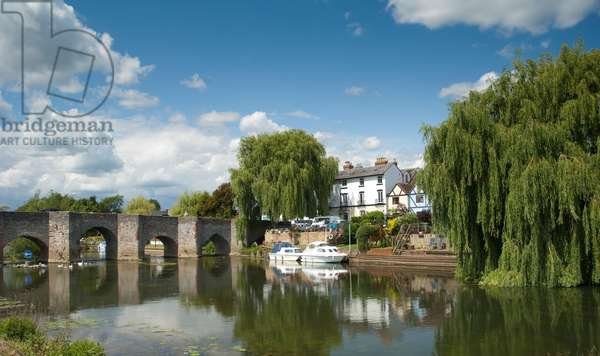 River Avon, Bidford-on-Avon, Warwickshire (photo)