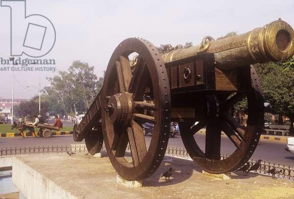 The Zamzama Gun (photo)