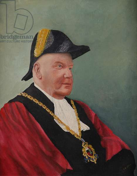 Alderman W. H. Norton, Mayor of Worcester (oil on canvas)
