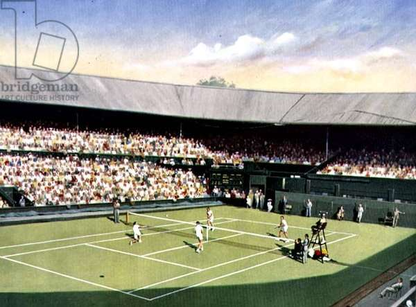 All England Lawn Tennis Championships (lithograph)