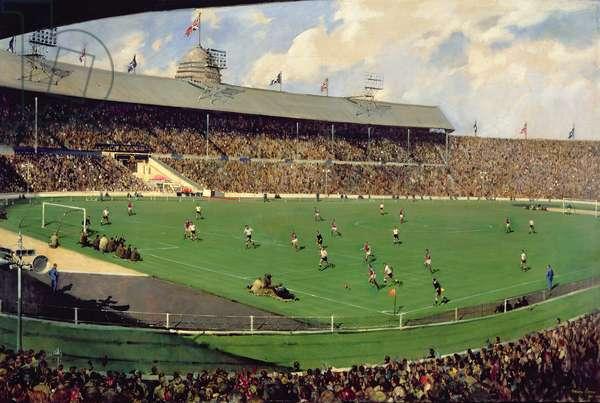 Tottenham v. Burnley, F.A. Challenge Cup, 1962